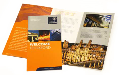 Welcome leaflet