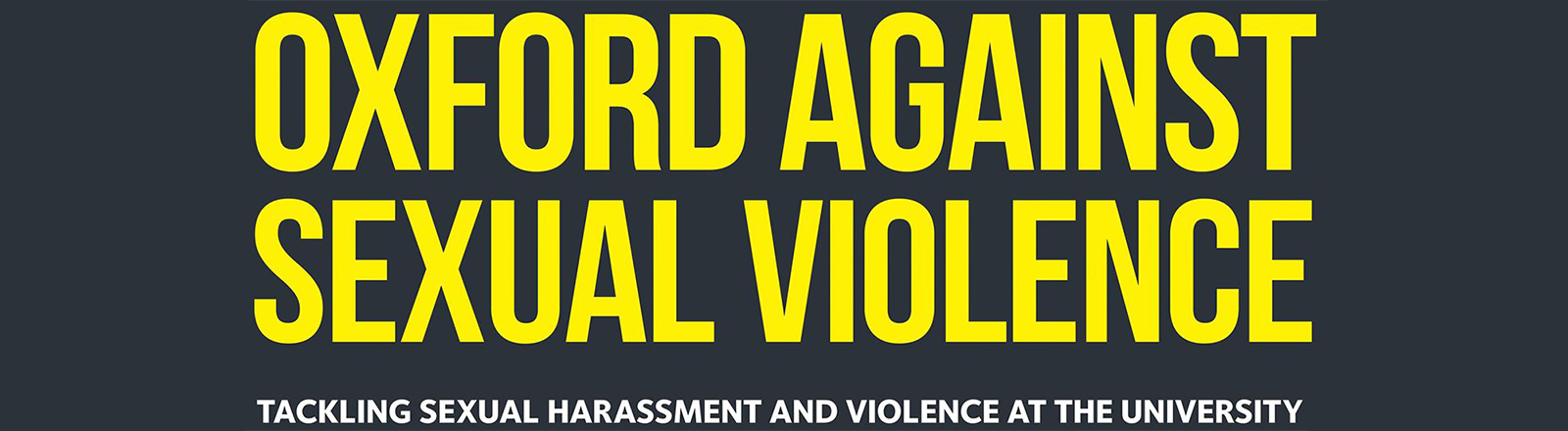 Oxford against sexual violence