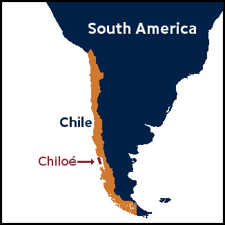 Chiloé island location