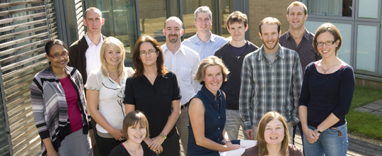 Professor Helen McShane and her research group