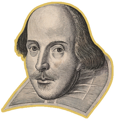 Engraving of Shakespeare