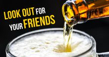 Promo image for drink spiking awareness campaign