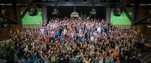 Hack Zurich crowd