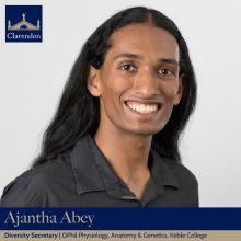 Ajantha Abey, Diversity Sec. Clarendon Council 2021