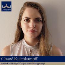 Chané Kulenkampff, Outreach Sec. Clarendon Council 2021
