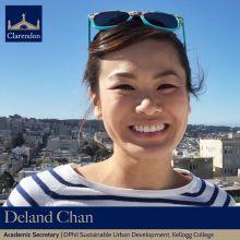 Deland Chan, Academic Sec. Clarendon Council 2021