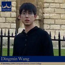 Dingmin Wang, IT Sec. Clarendon Council 2021