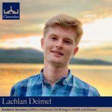 Lachlan Deimel - Alumni & Careers Sec TT21 & MT21