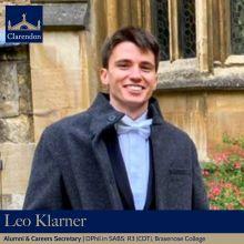 Leo Klarner - Alumni & Careers Sec TT21 & MT21