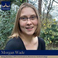 Morgan Wade, Dining Sec. Clarendon Council 2021