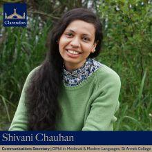 Shivani Chauhan - Comms Sec TT21 & MT21