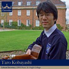 Taro Kobayashi, Cultural Sec. Clarendon Council 2021