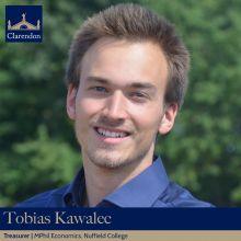 Tobias Kawalec, Clarendon Council Treasurer 2021