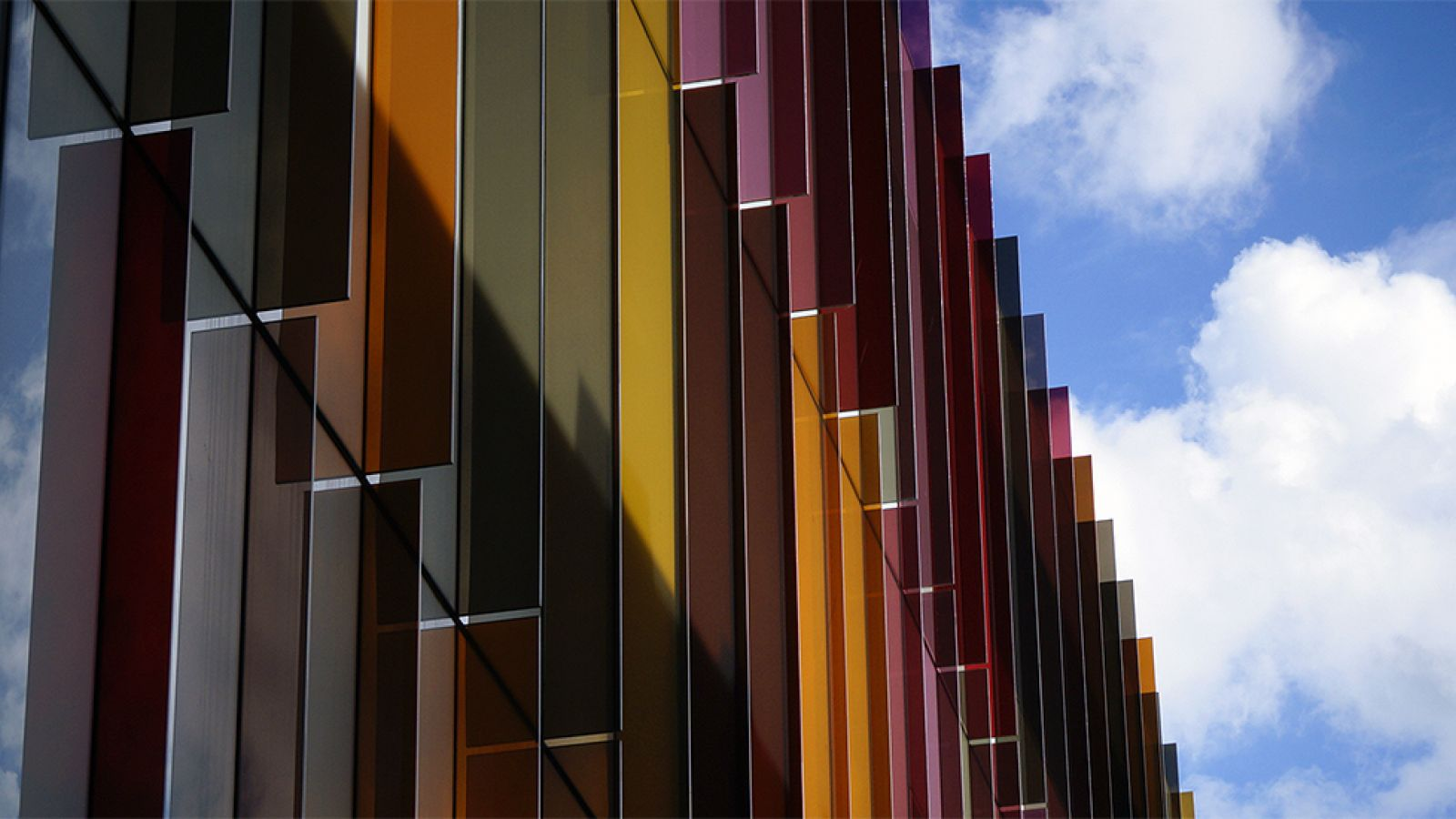 The Biochemistry building against a blue sky