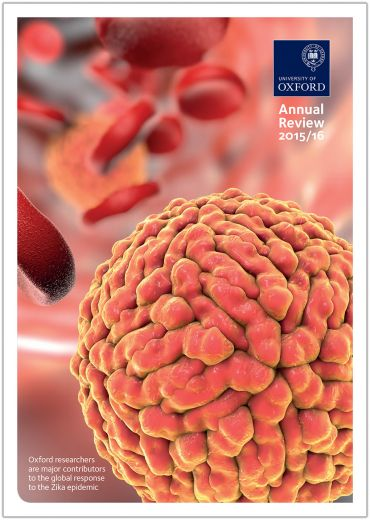 Annual Review 2015/16 cover