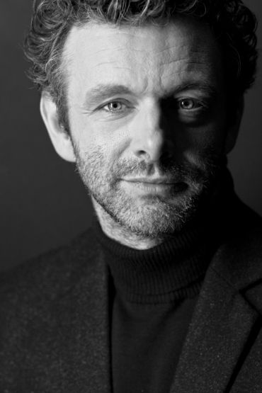 Head and shoulder image of actor Michael Sheen