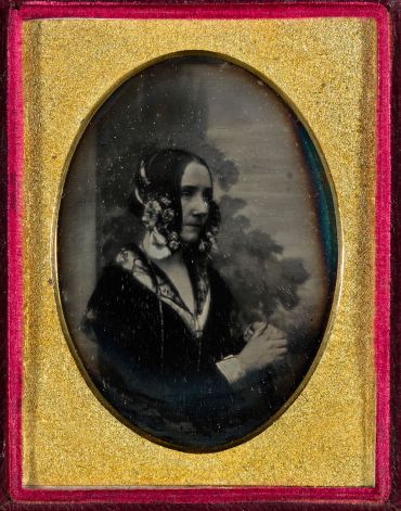 Daguerreotype of Ada Lovelace, about 1843, reproduced by courtesy of G M Bond
