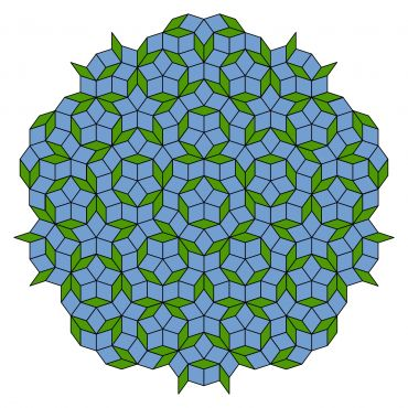 An example of a Penrose tiling