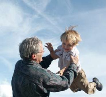 Grandparents contribute to children's wellbeing