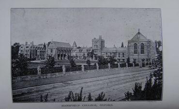 Mansfield College, 1910