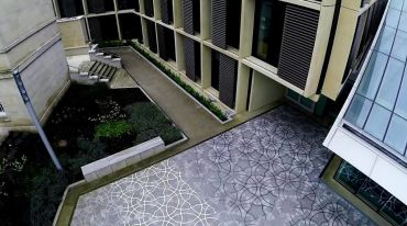 Penrose tiling, Mathematical Institute, Oxford