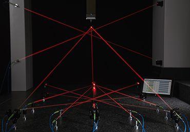 laser measuring lines