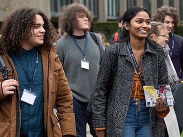 students at an Opportunity Oxford event