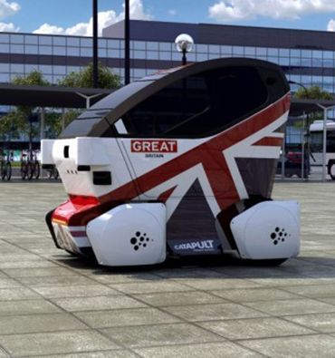 Driving Autonomy in Driverless Pods