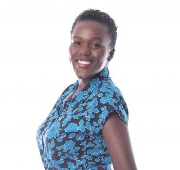 Head and shoulders photograph of Ruth Nyakerario