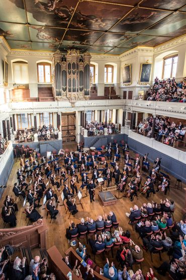 Interior of the Sheldonian Theatre
