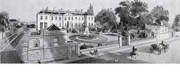 The Radcliffe Infirmary about 1860