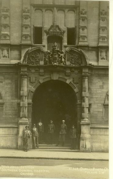 Town Hall Entrance, Museum of Oxford