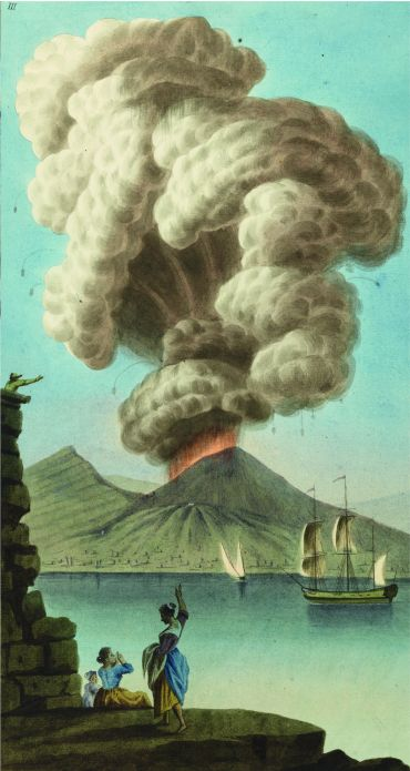 Vesuvius eruption_Campi Phlegraei