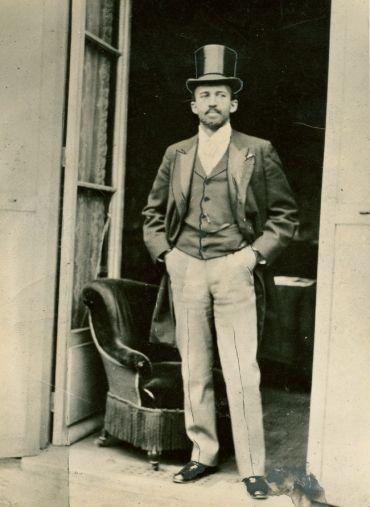 W. E. B. Du Bois at the Paris International Exposition 1900