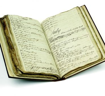 William Dunn weather diary