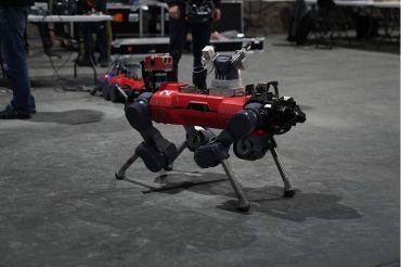 An ANYbotics ANYmal C robot from Team Cerberus