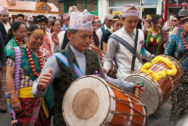Asian drummer