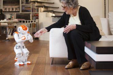 Nao, an advanced-programmed humanoid robot