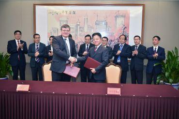 Suzhou signing