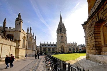 University Church from Radcliffe Square