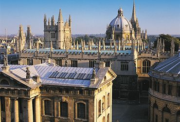 Exterior of the Old Bodleian Library