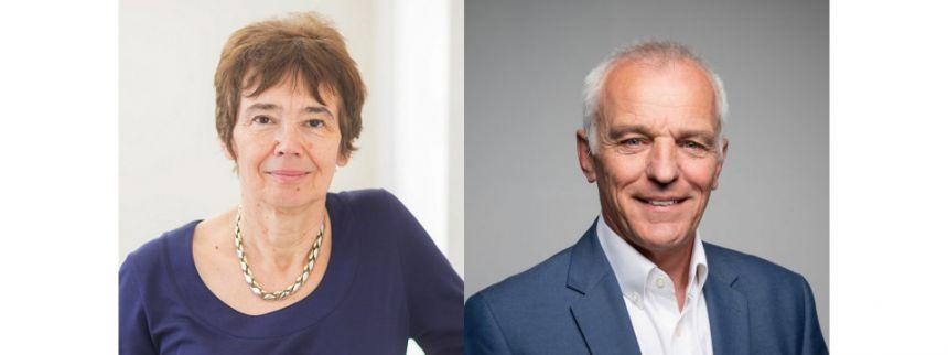 Prof Sally Shuttleworth and Prof Keith Willett