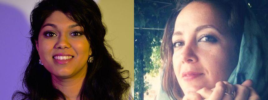 Shazeaa Ishmael and Suzan Meryem Kalayci