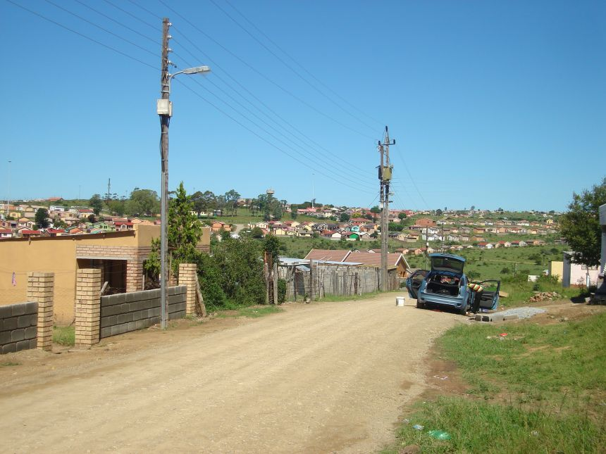 The South African township of Ginsberg - one of the centres for an innovative new programme to tackle the physical and emotional abuse of children
