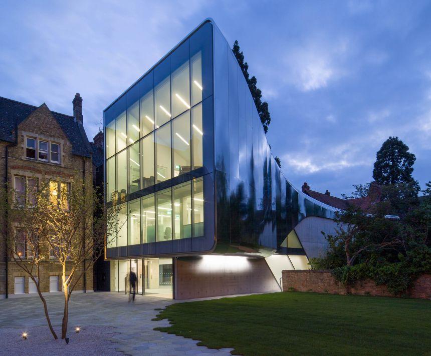 Investcorp Building. Credit: Luke Hayes/Zaha Hadid Architects.