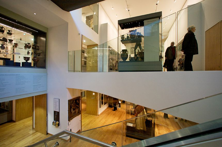 Interior of The Ashmolean Museum