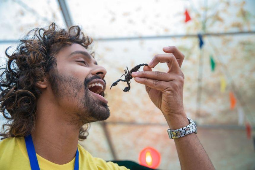 Bug eating