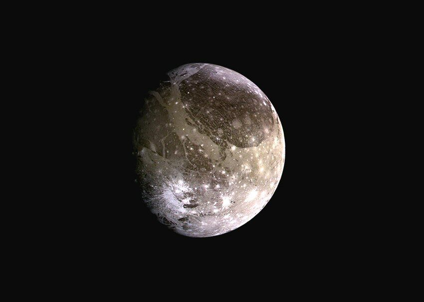 Ganymede as observed by the Galileo spacecraft