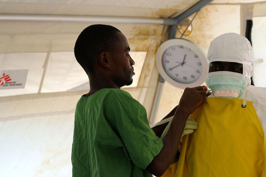 Ebola trial West Africa
