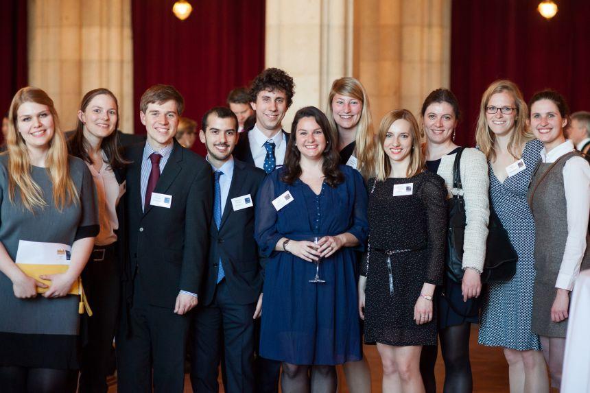 Welcome Reception at the European Alumni Reunion in Vienna